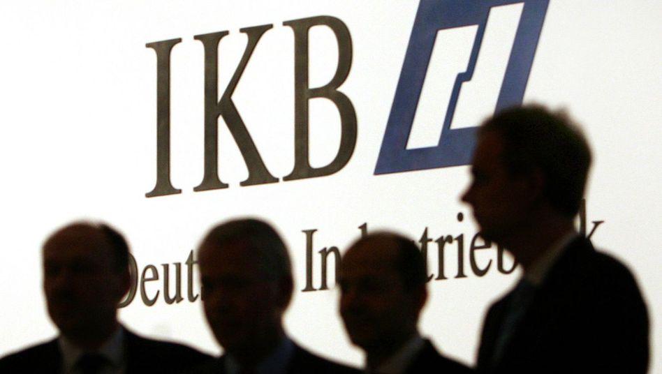 IKB-Logo: Suche nach neuem Besitzer