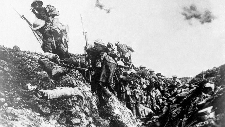 Weltkriegspropaganda: Widerstandsgeist gegen die Aggressoren stärken