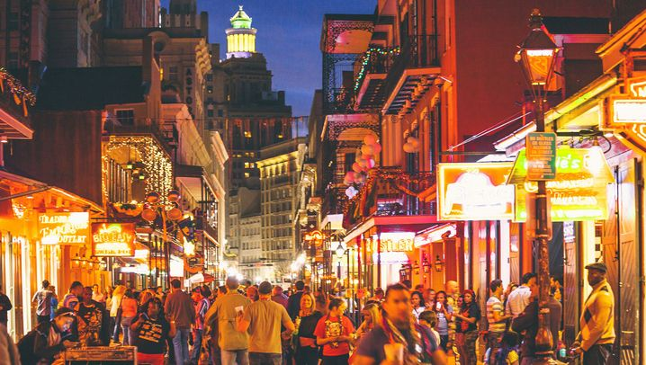 Gut gemixt: New Orleans durchs Glas betrachtet