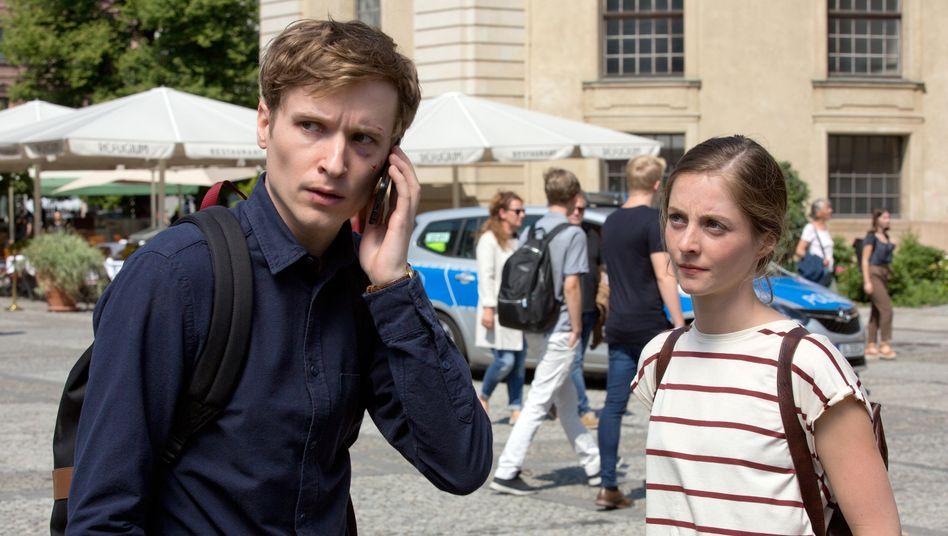 Kurz vor dem Attentat: Zwei Studenten der Eliteuni