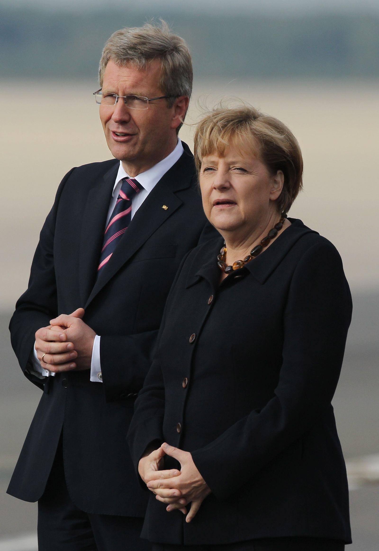 Christian Wullf / Angela Merkel