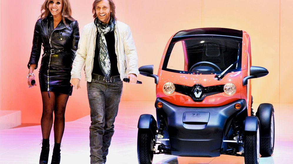 Photo Gallery: Renault's Electric City-Mobile