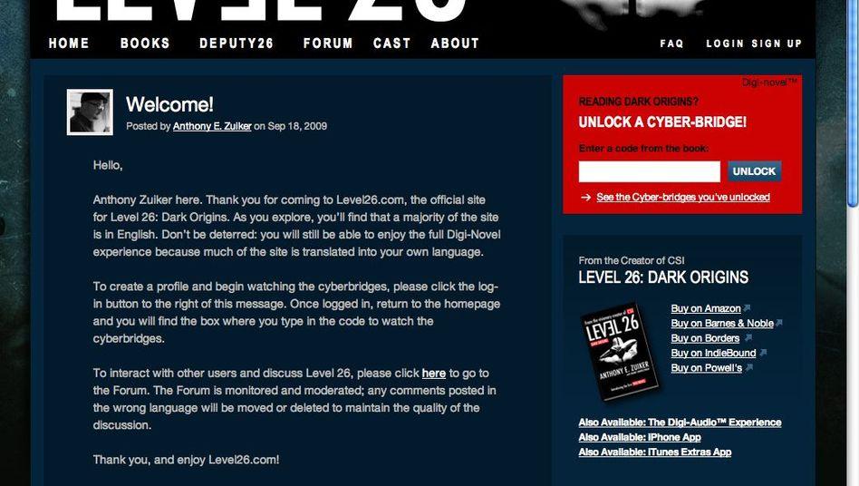 Level 26: Psycho-Thriller mit Web-Anbindung