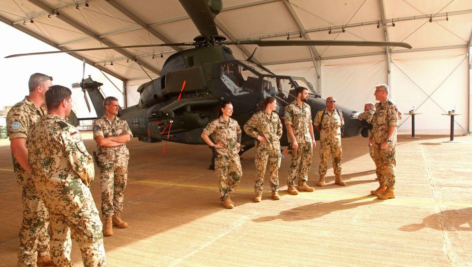 Bundeswehrsoldaten in Mali