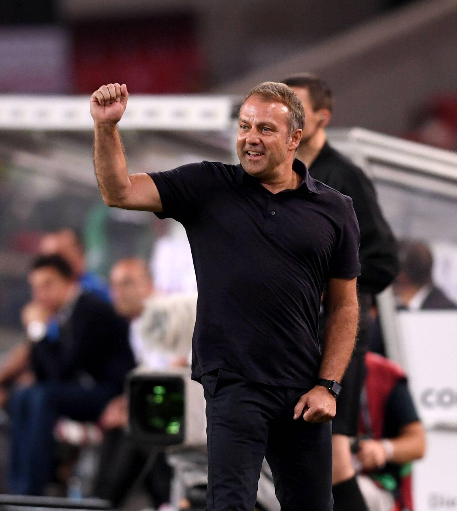 FUSSBALL INTERNATIONAL QUALIFIKATION WM 2022 Katar in Stuttgart Gruppe J Deutschland - Armenien 05.09.2021 Bundestraine
