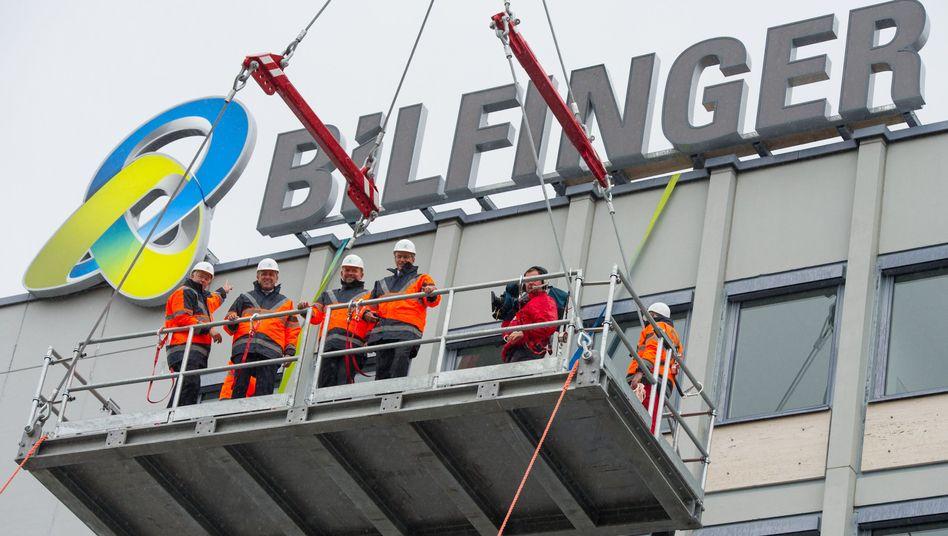 Bau- und Dienstleistungskonzern Bilfinger
