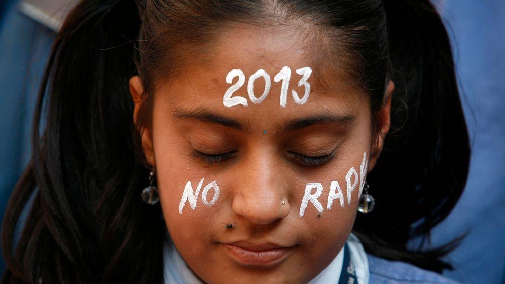 Gegen Vergewaltigung: Indiens Silvester-Protest