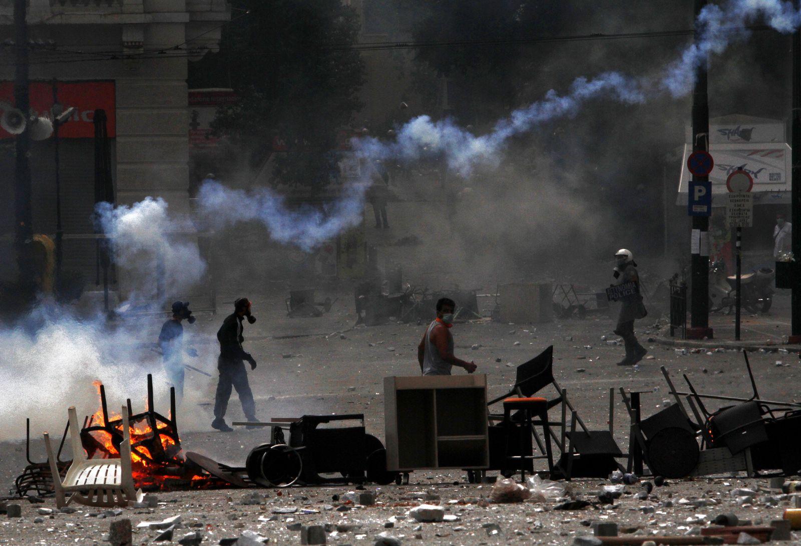 Griechenland Proteste