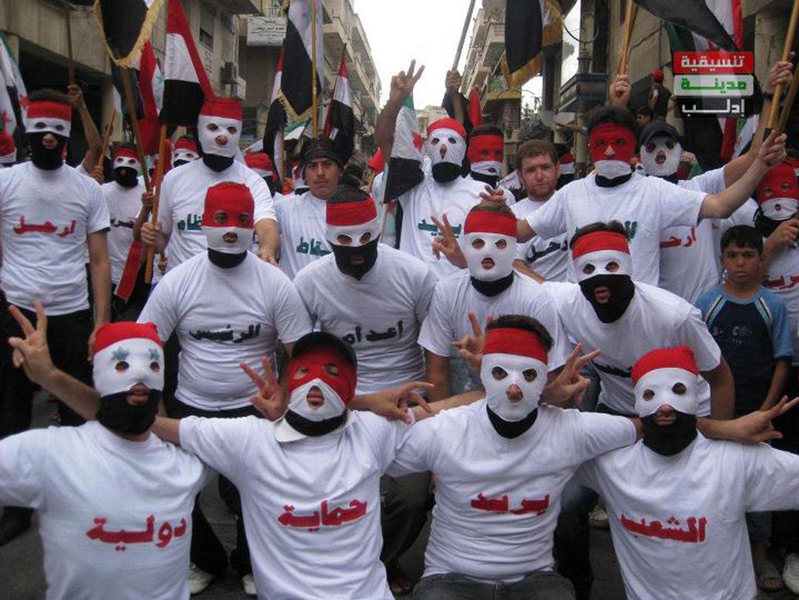 Syrien / Proteste Idlib