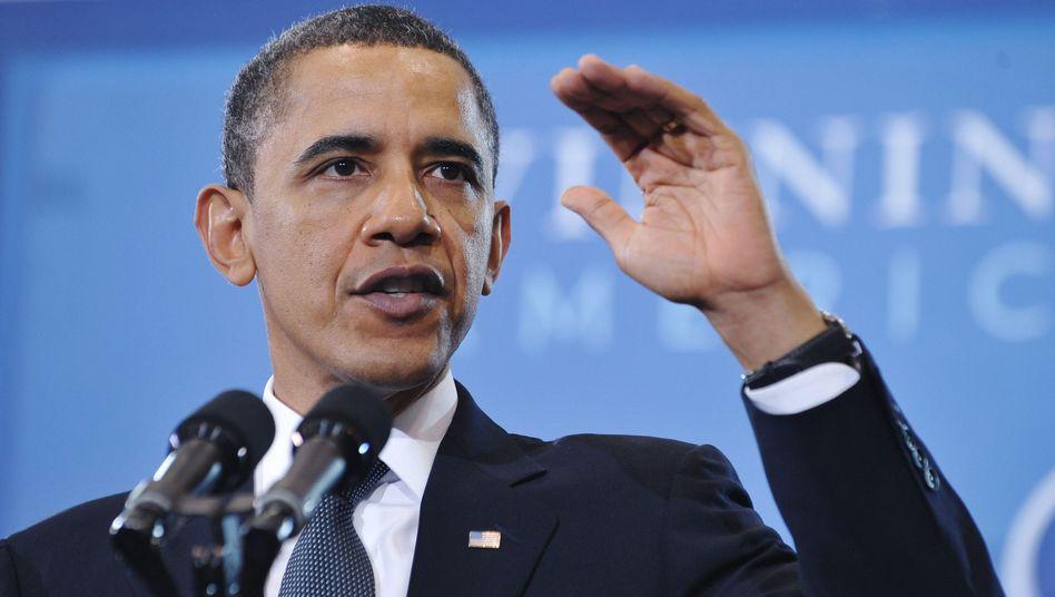 """US-Präsident Obama: """"Ein neues Ziel, das vernünftig, erreichbar und notwendig ist"""""""