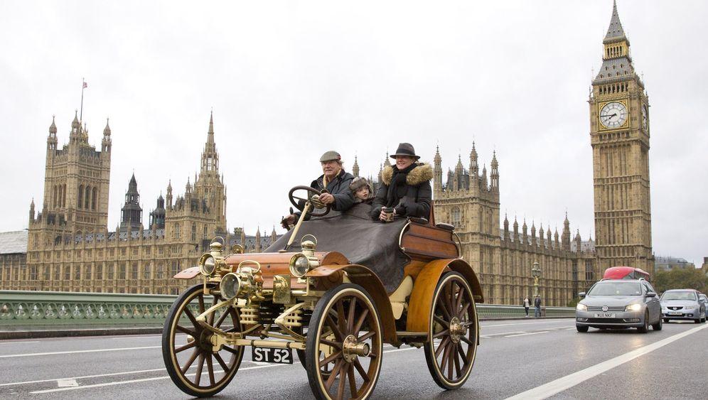 Oldtimer-Rennen: Mit 32 km/h von London nach Brighton