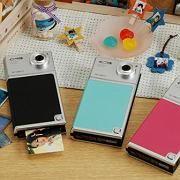 Digitalkamera mit Drucker: In Japan erscheint die Kamera Xiao TIP-521 mit integriertem Pogo-Drucker