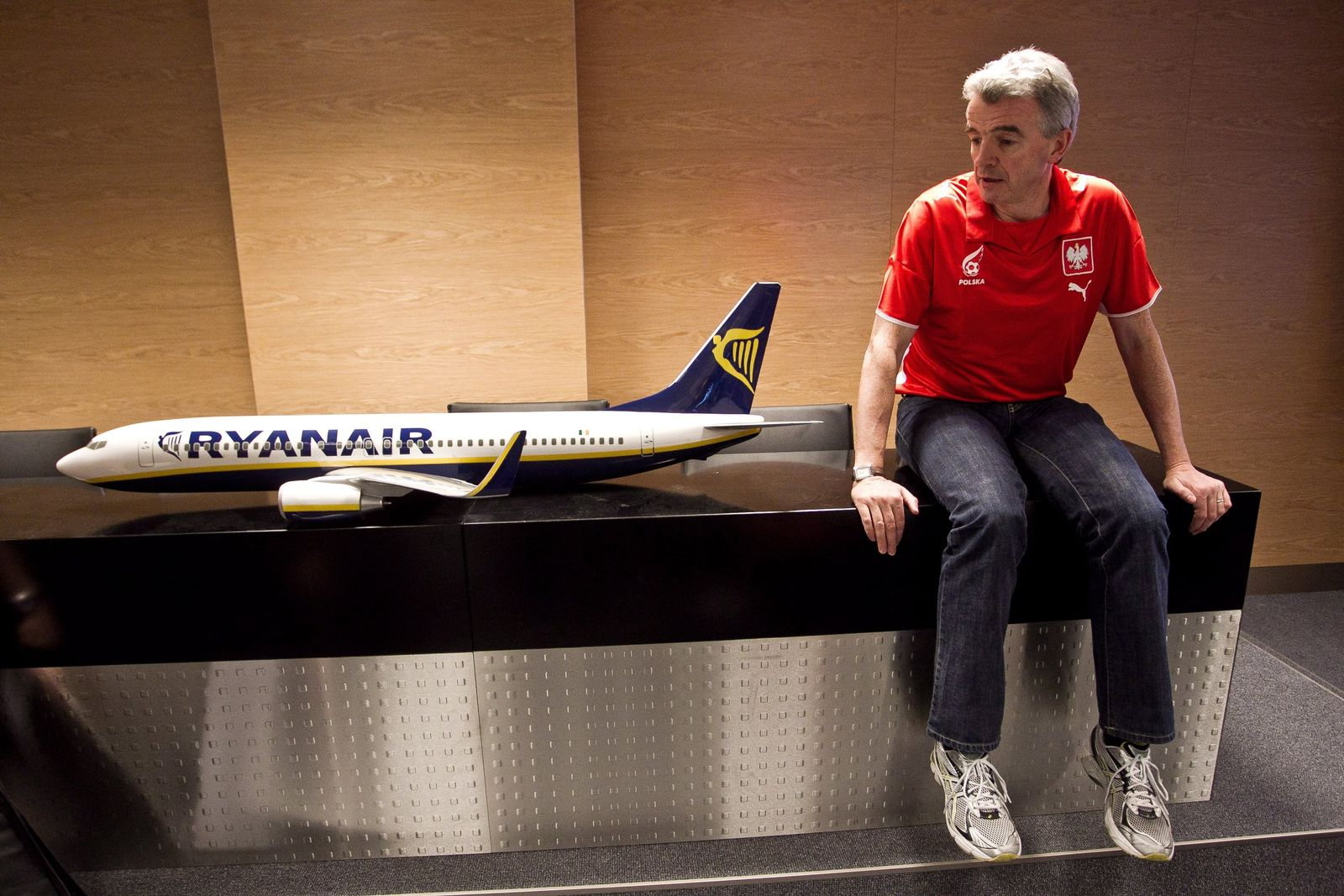 Ryanair press conference at Wroclaw Airport