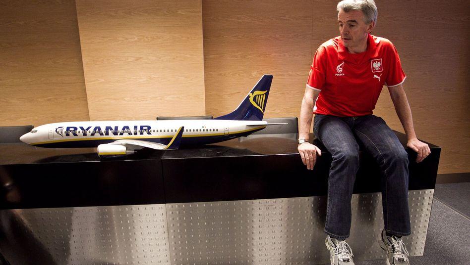 Ryanair: Chef Michael O'Leary ist für seine kruden Sparideen bekannt