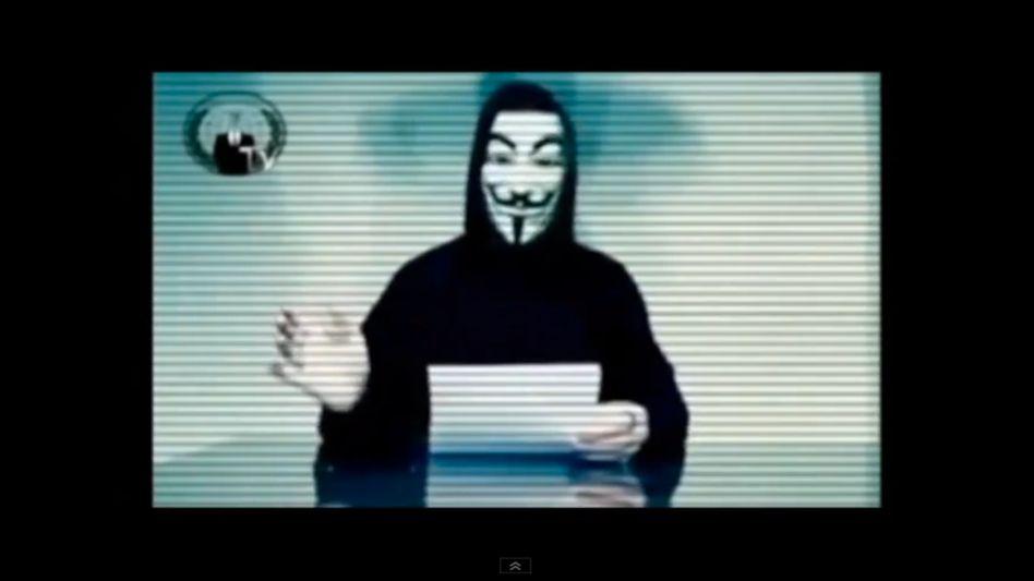 Anonymous-Video (Screenshot): Kampf gegen kinderpornografisches Material im Netz