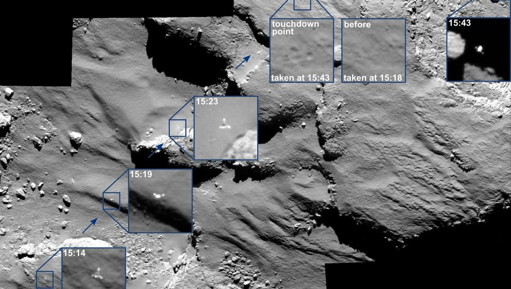 "Apparat ""Philae"": Pingpong auf Tschuri"