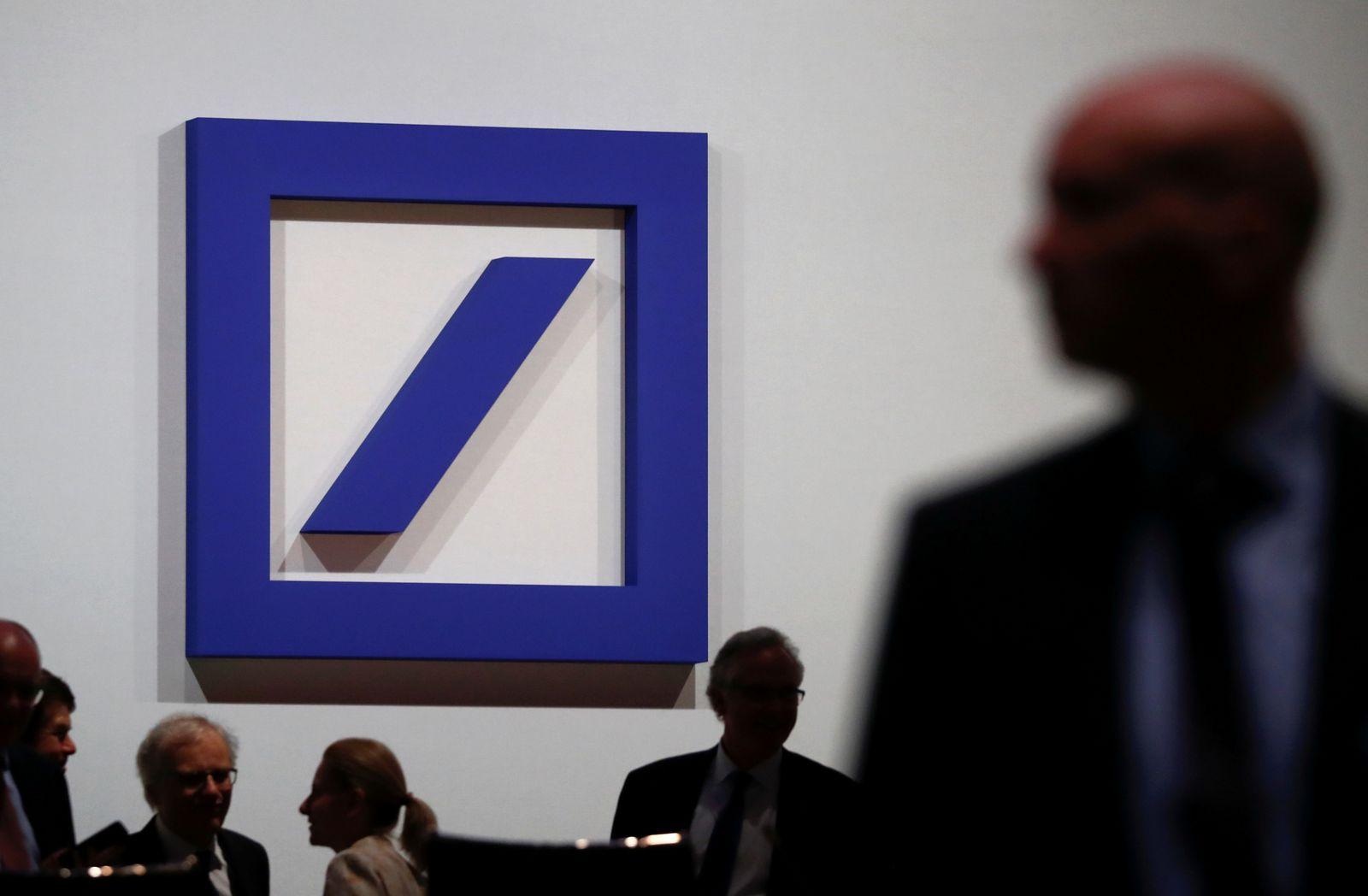 FILE PHOTO: Deutsche Bank annual meeting in Frankfurt