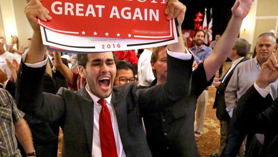 Trump-Anhänger in Florida