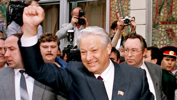 Boris Jelzin: Wasser predigen, Wodka trinken