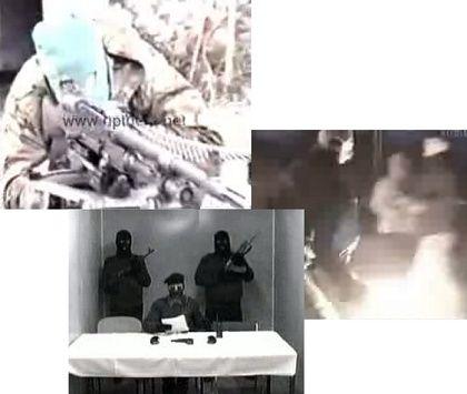Keine Terrororganisation, die im Web nicht aktiv wäre: YouTube-Propagandavideos mit peppiger Musik. Im Bild: Werbefilme konkurrierender IRA-Splittergruppen