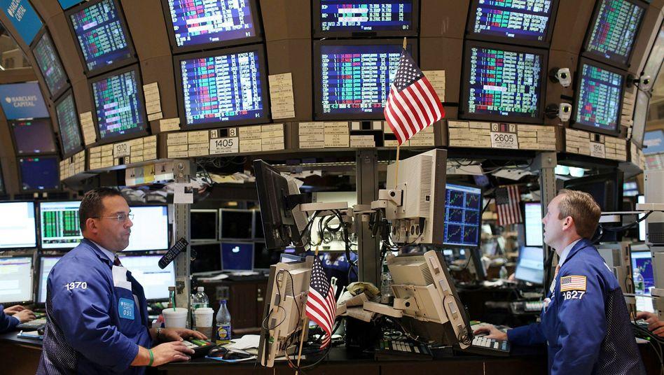 Händler an der New Yorker Börse: Symbolisches Quartal ohne Boni