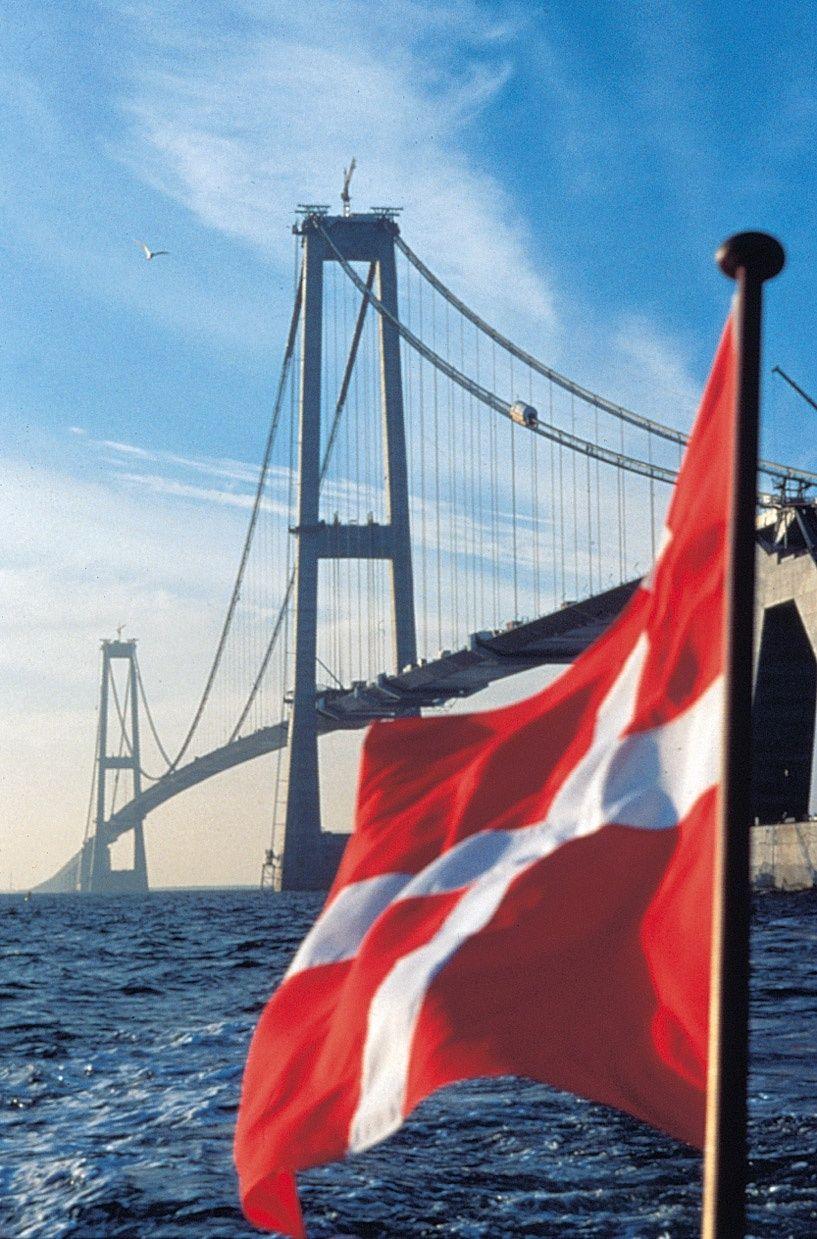 NICHT VERWENDEN Kopenhagen Brücke Großer Belt