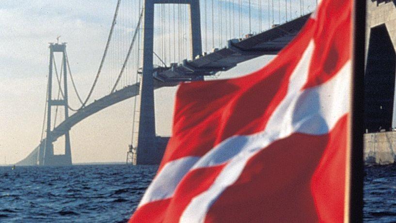 Brücke zwischen Kopenhagen und Odense: Dänemark ist ein beliebter Schuldner