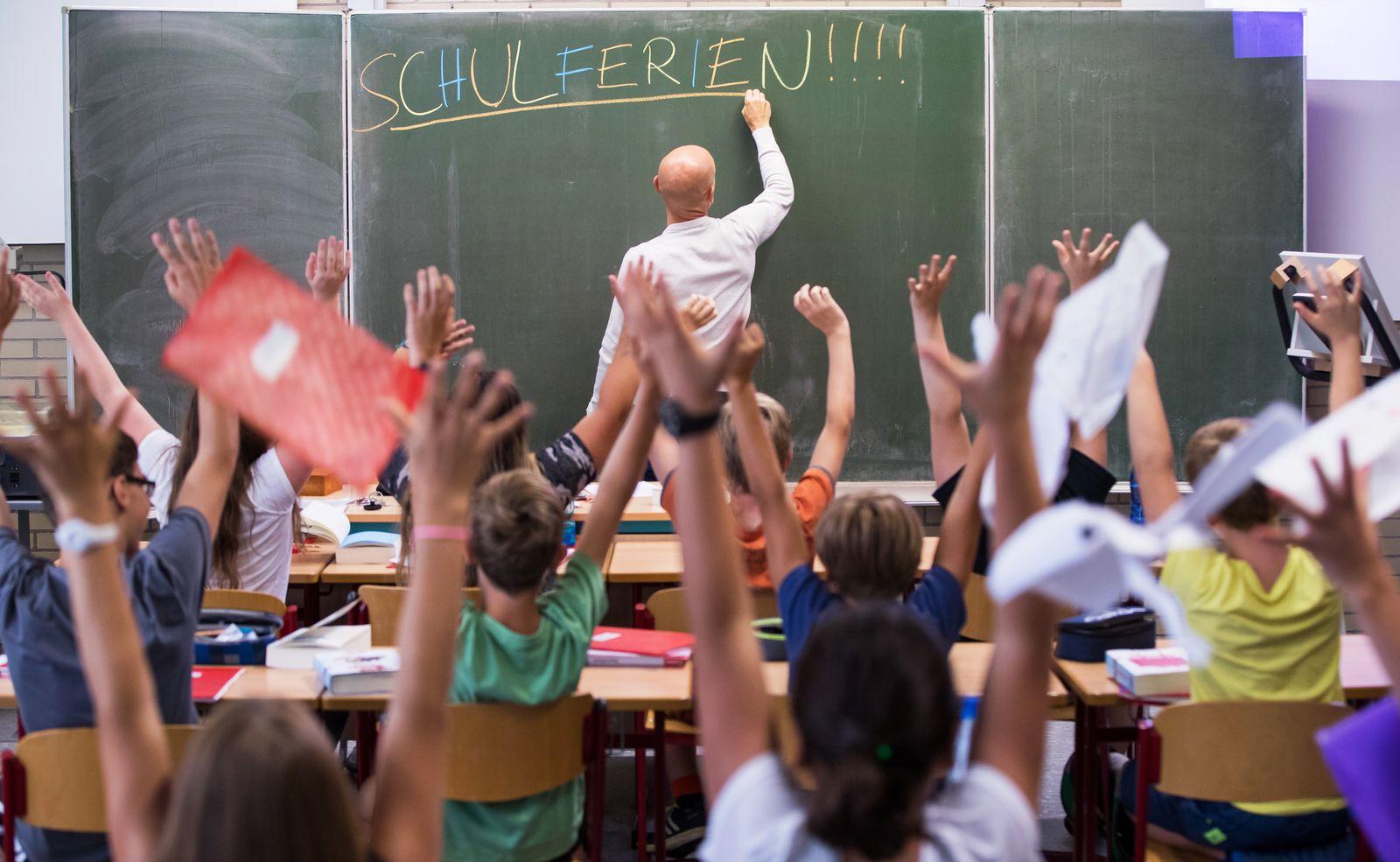 Lehrer / Schule / Ferien