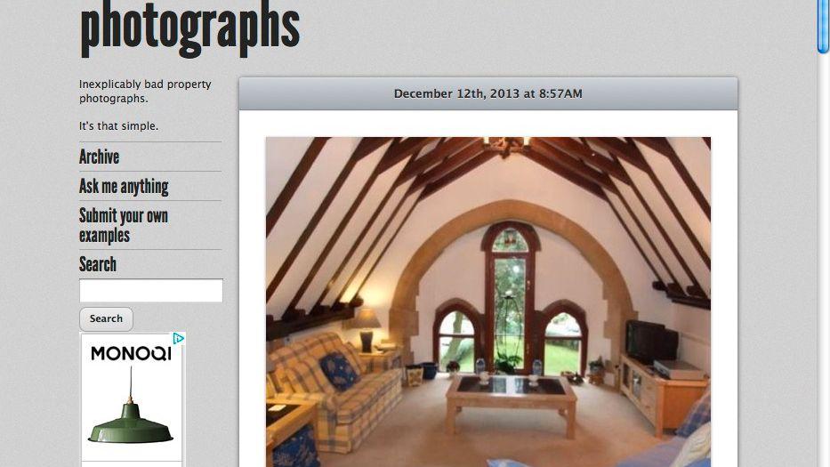 Fenster mit Interpretationsspielraum (Screenshot): Misslungene Makler-Fotos