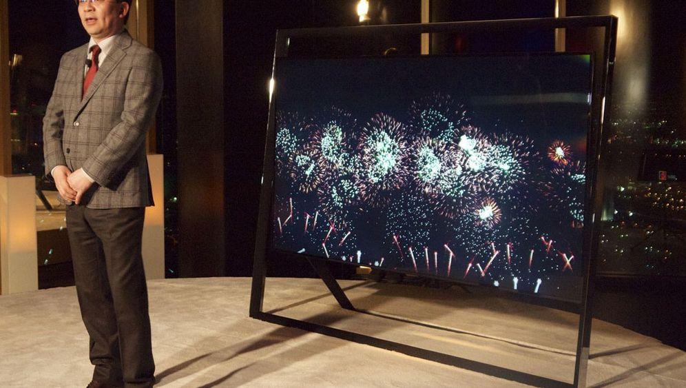 CES-Neuheiten: Samsungs Riesenfernseher mit Stütze