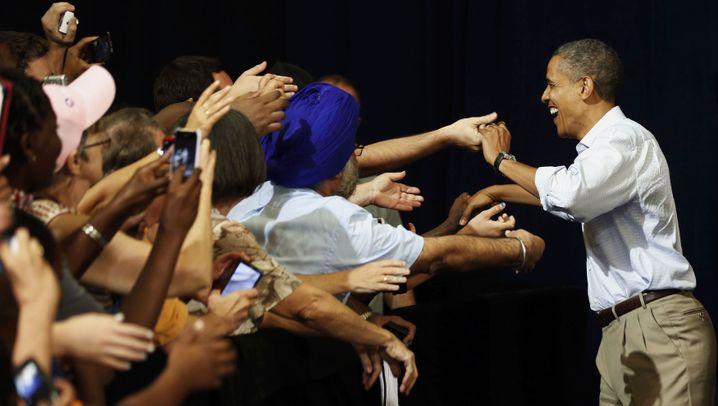 US-Wahlkampf: Obama bei Letterman