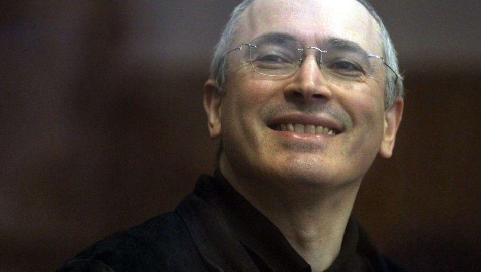 Freigelassener Kreml-Gegner: Chodorkowski trifft seinen Sohn Pawel