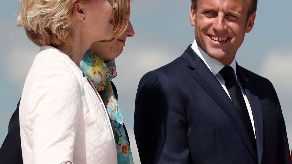 Ursula von der Leyen und Emmanuel Macron