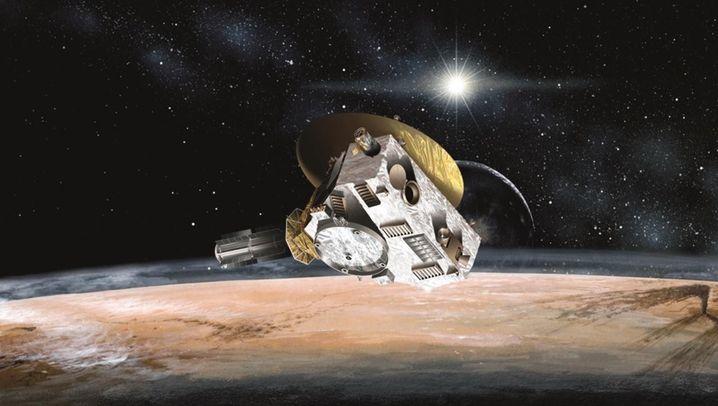 Dunstige Eislandschaft: Spektakuläre Pluto-Fotos