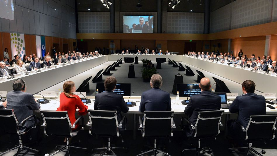 G20-Finanzminister in Buenos Aires