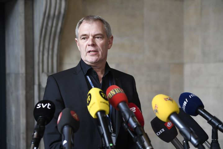 Jens Møller, Leiter der Mordkommission Kopenhagen