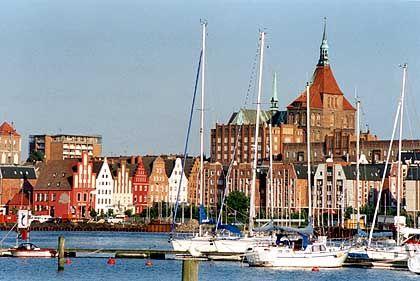 Rostock: Einst einer der wichtigsten Hansehäfen