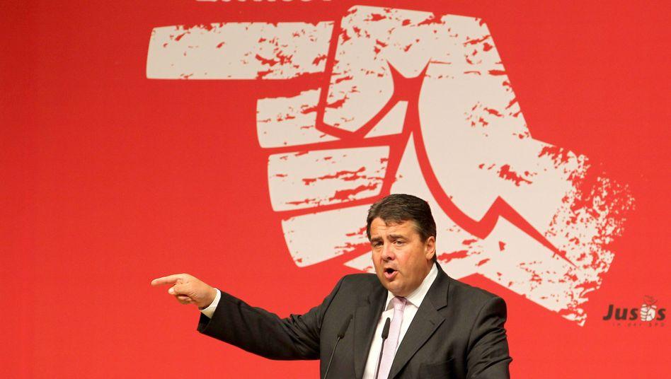 """SPD-Chef Gabriel: """"Eine Debatte beginnen"""""""