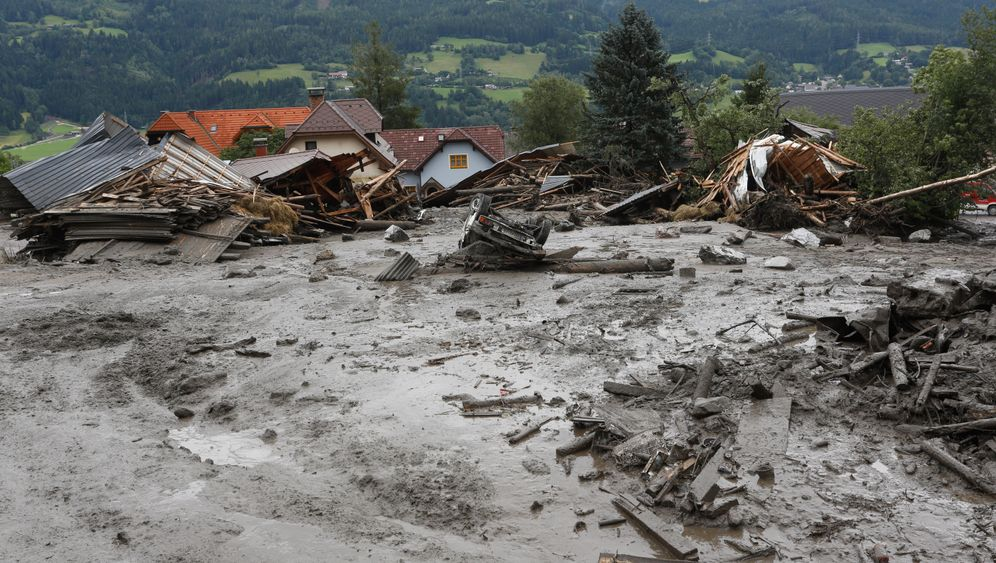 St. Lorenzen: Schwere Schäden durch Schlamm und Geröll