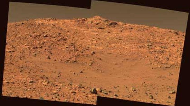 Marsoberfläche: Bilder vom Roten Planeten
