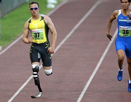 """Sprinter Pistorius: """"Keinen Respekt vor Behinderten"""""""