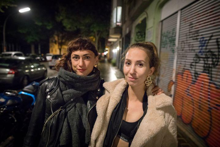 Jeannette und Rita, beide 30