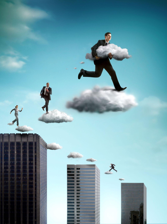 NICHT MEHR VERWENDEN! - Symbolbild Cloud computing