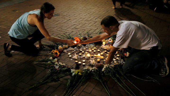 Bilder aus Charlottesville: Wut und Trauer