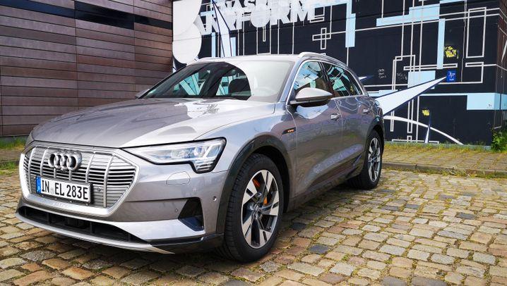 Fahrbericht Audi e-Tron: Der Schnellentlader