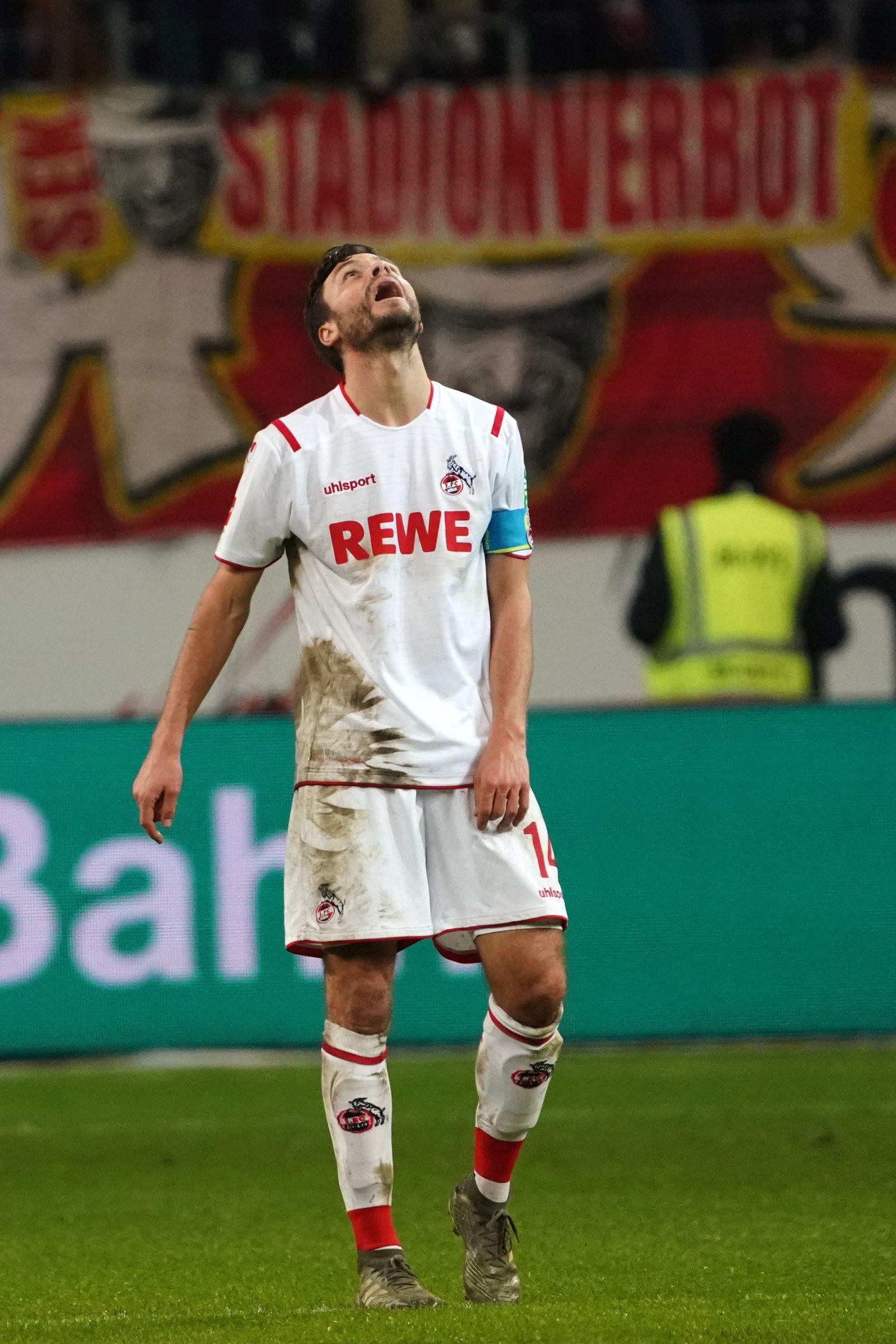 Eintracht Frankfurt - 1. FC Köln Jonas Hector
