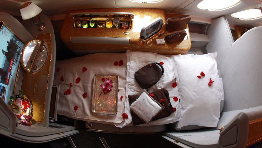 Erste-Klasse-Sitz von Emirates Airlines