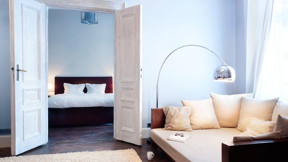 Zimmer im Angebot: Bei Airbnb bieten Privatleute ihre Wohnungen an