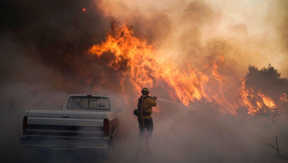 Waldbrand in Kalifornien, Oktober 2020