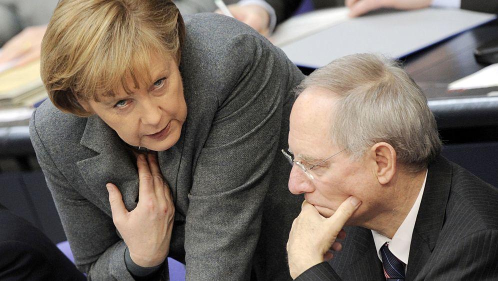 Photo Gallery: Merkel Against the World